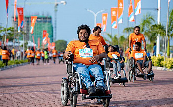 The World from Nazif's Wheelchair